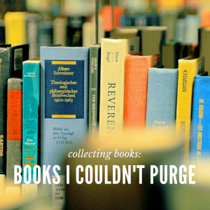 books I couldn't purge