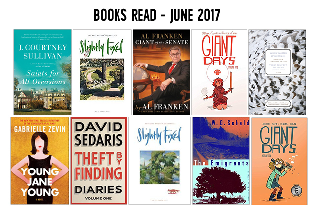 booksreadjune2017