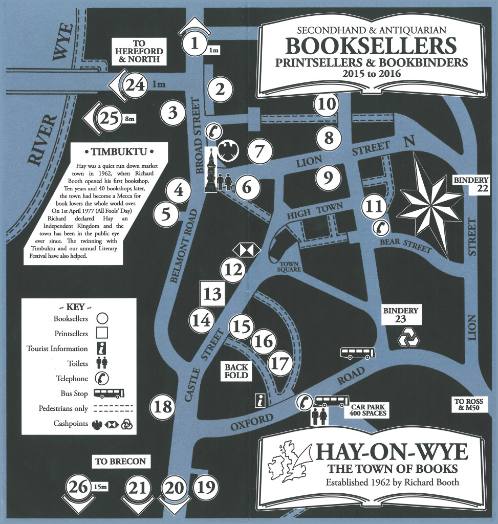 Image result for hay on wye bookseller map